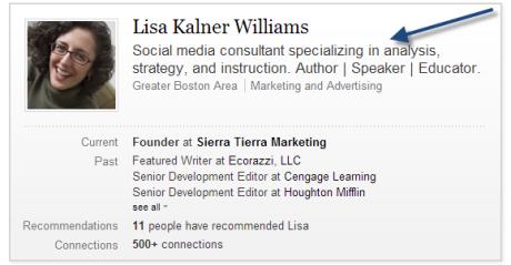 linkedin-profile-headline