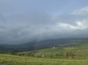 Isle of Man after the rain