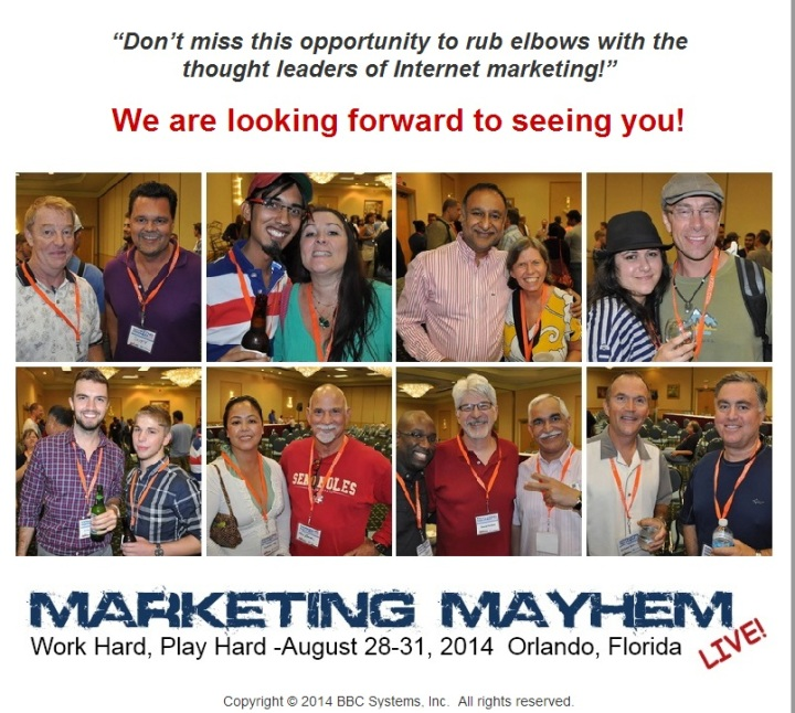 Marketing Mayhem Live 2014
