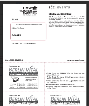 berlin marathon registration form 2014