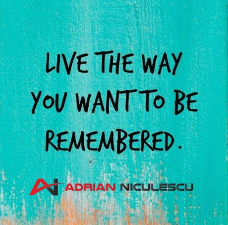 live the way