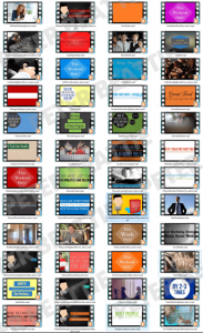 Additional animated video templates