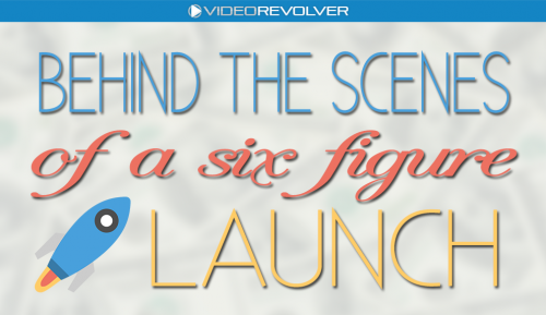 Behind the scenes of a 6 figure launch